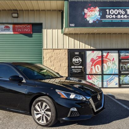 2020 Nissan Altima With Llumar Window Tint