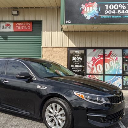 Kia Optima Auto Window Tint
